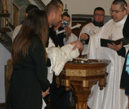Hanno, ja Ciebie chrzczę...  /fot.: ms /