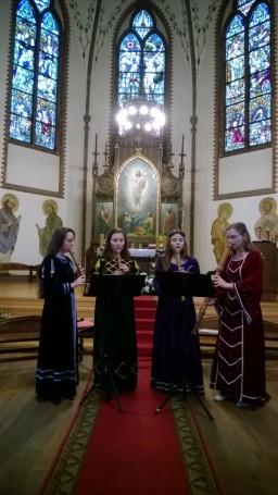 Hortus M.-  koncert w k. Przemienienia Pańskiego w Płotach