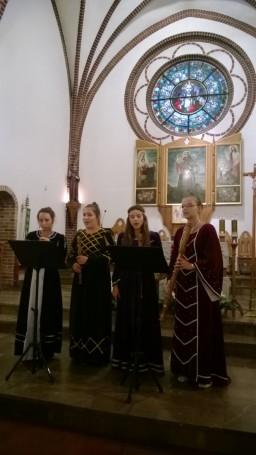Hortus M. - koncert w k. p.w. Św.Antoniego w Wałczu