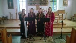 Horus Musicus Mielec występ w k. pw. Chrystusa Króla w Dolicach
