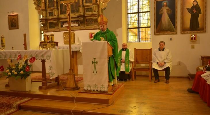 Wizytacja biskupia w naszej parafii