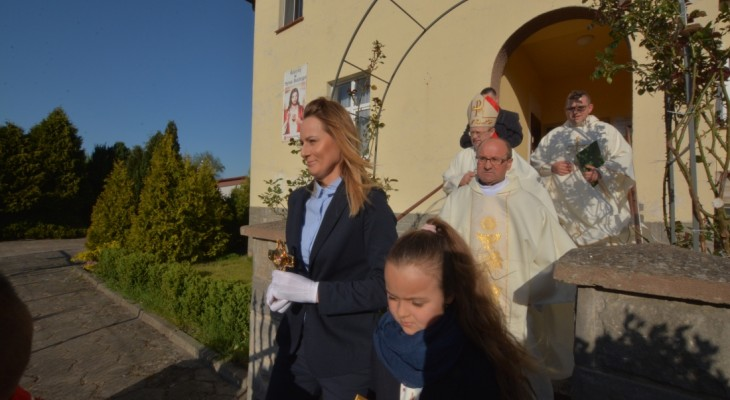 Wprowadzenie relikwii bł. ks. Michała Sopoćko
